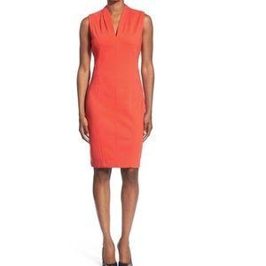 🌟 T Tahari Tonya Dress 12 Sleeveless 👗